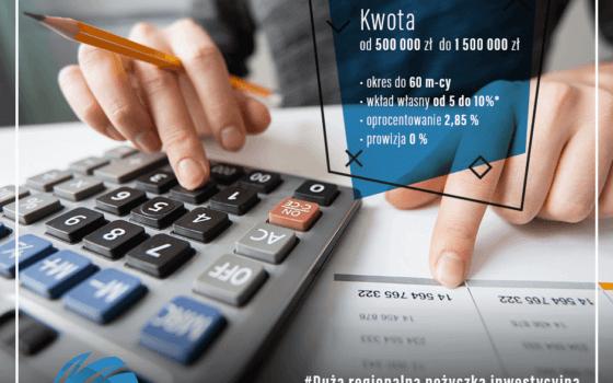 Duża Regionalna Pożyczka Inwestycyjna