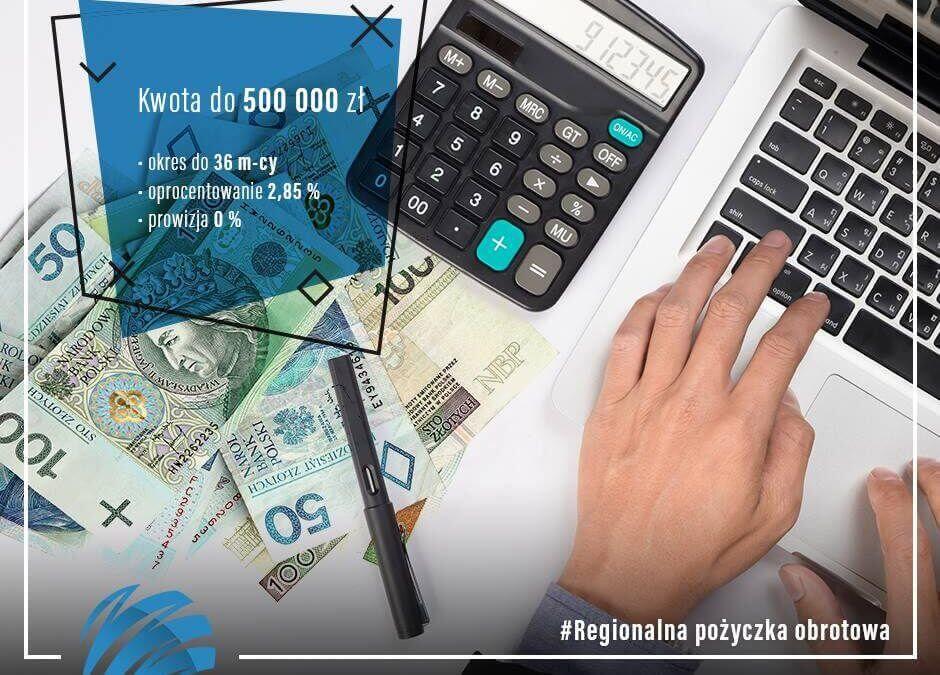 Regionalną Pożyczkę Obrotową